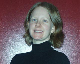 Kate Tietje, en una foto de su blog