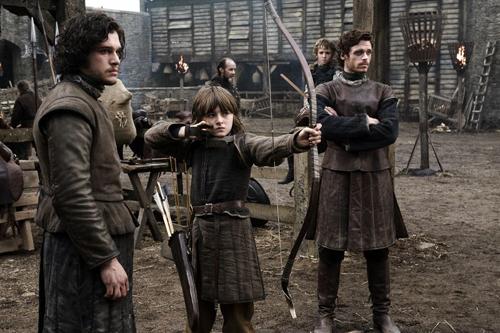 Jon Nieve, Bran y Robb