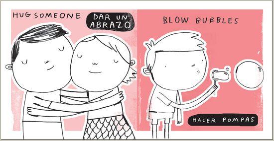 Ilustración del libro 'Your Body' ('Tu cuerpo') , de Bilingual Readers