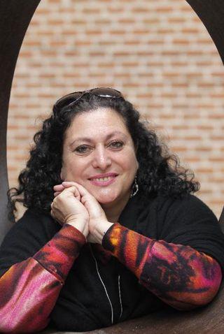 La pedagoga Vicki Subirana, en Madrid (Foto: Gorka Lejarcegi)