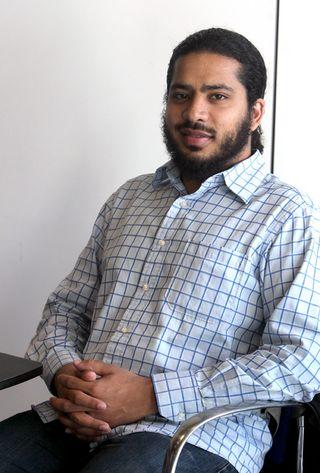 Bilad Randeree, periodista de Al Yazira (Foto: Uly Martín)