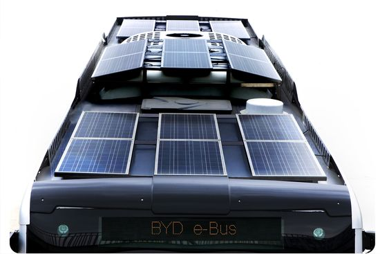 Placas solares del K9