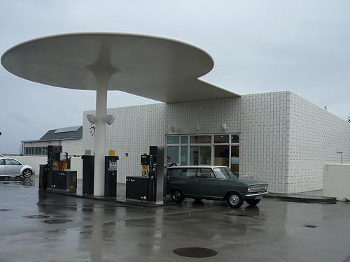 Jacobsen gasolinera antigua