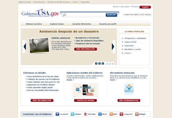 GobiernoUSA.gov
