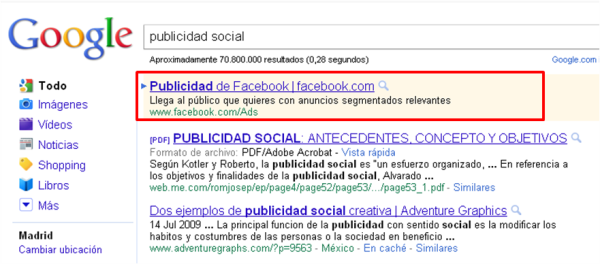 Adwords en facebbokkk