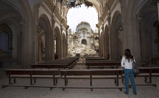 Iglesia de Santiago. / Julián Rojas