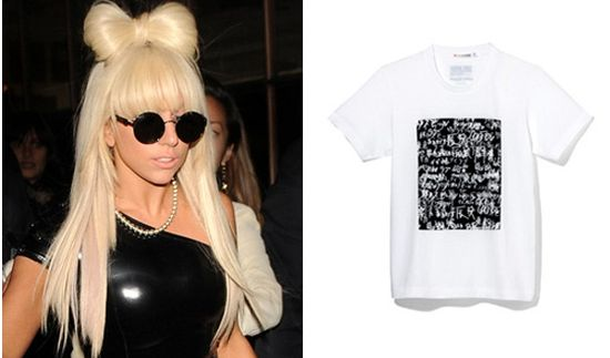 Lady gaga camiseta