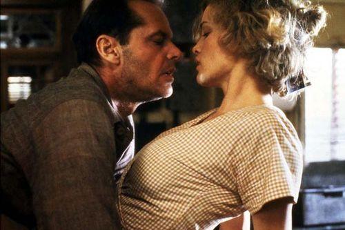 Jessica Lange y Nicholson en El cartero siempre llama dos veces