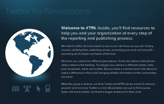 Twitter for Newsrooms – Twitter Media