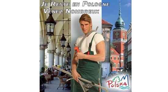 Turismo de Polonia y su fontanero sexy