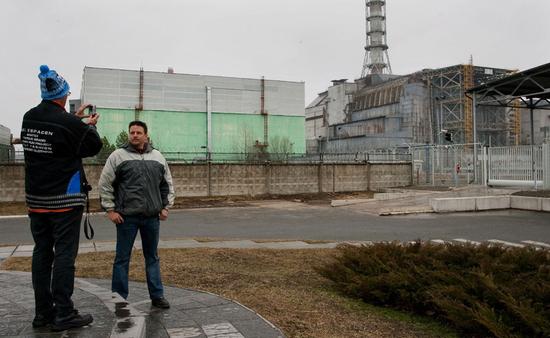 Turistas en Chernobyl. VLADIMIR SIMICEK (ISIFA /GETTY)
