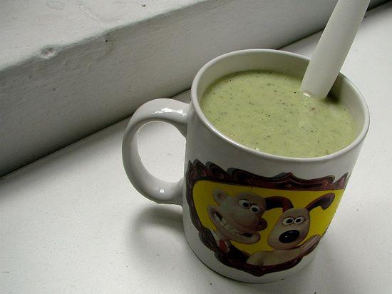 Sopa pepino yogur menta