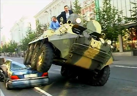 Arturas-zuokas-vilnius-lithuania-mayor-tank-car
