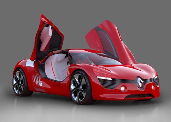Renault DeZir, un prototipo que podría convertirse en el primer deportivo eléctrico de Renault