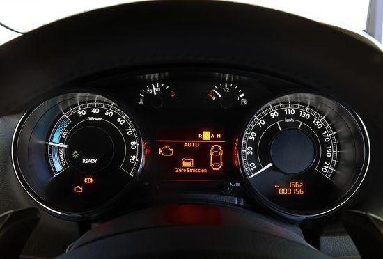 Instrumentación del Peugeot 3008 HYbrid 4