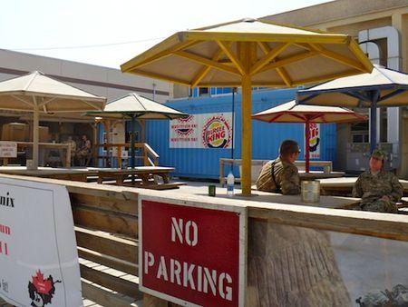 Burger King en Camp Phoenix