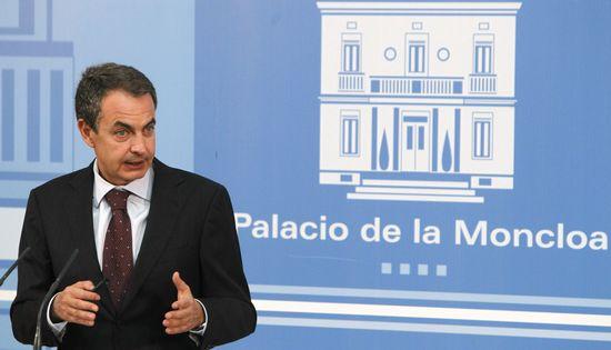 Zapatero, en su rueda de prensa de este lunes