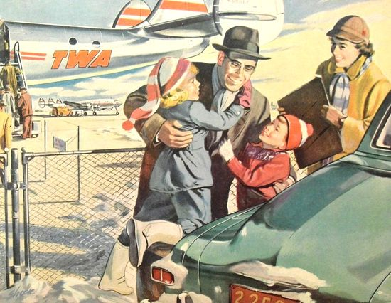 Aeropuerto vintage