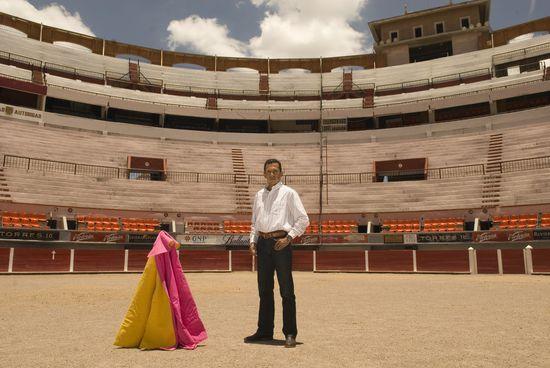 La plaza de toros monumental de Aguascalientes (México), con el Alejandro Prado