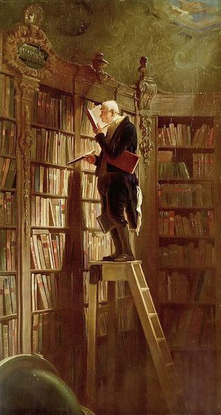 ElratondebibliotecaCarl_Spitzweg