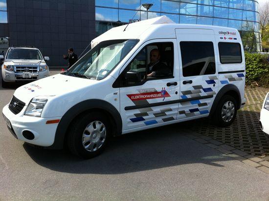 Ford Transit Connect eléctrico