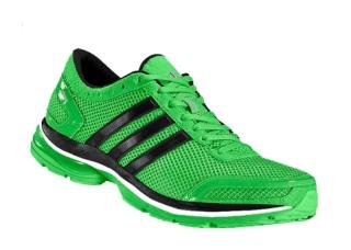 Una zapatilla deportiva de la marca Adidas