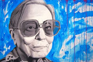 Retrato de Carmen Arrojo realizado por Javi Larrauri