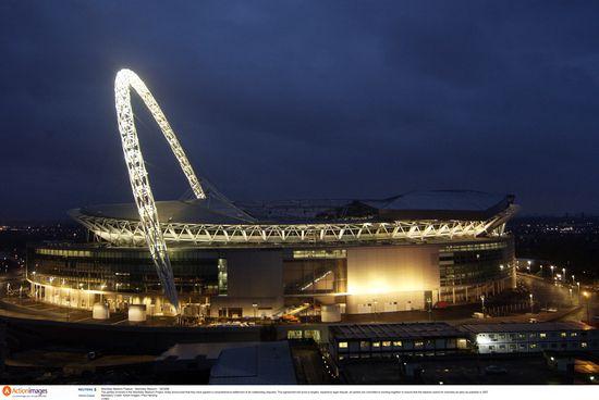 Outside Wembley