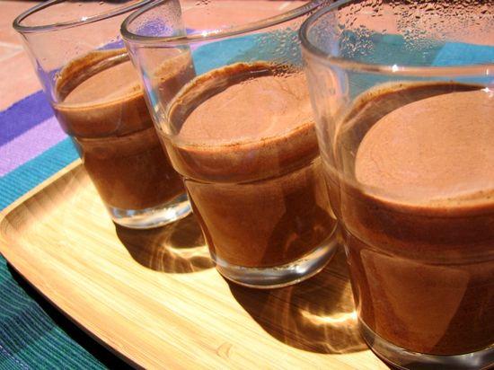 Vasitos chocolate crema expres