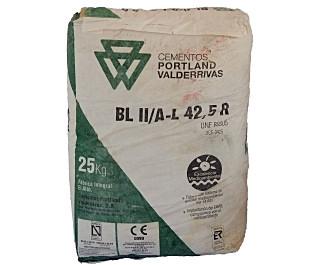 Saco de cemento de 25 kilos
