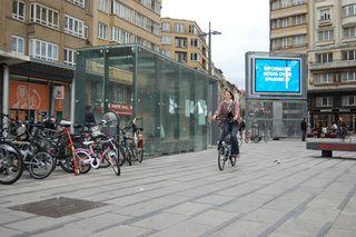 Dia europeo sin coches en Bruselas. C.M.