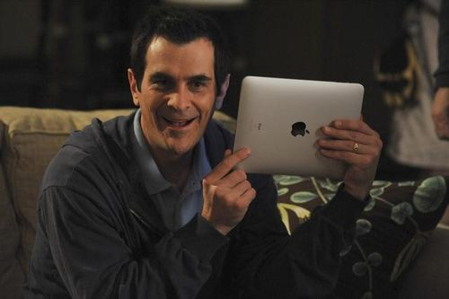 El iPad, en Modern Family