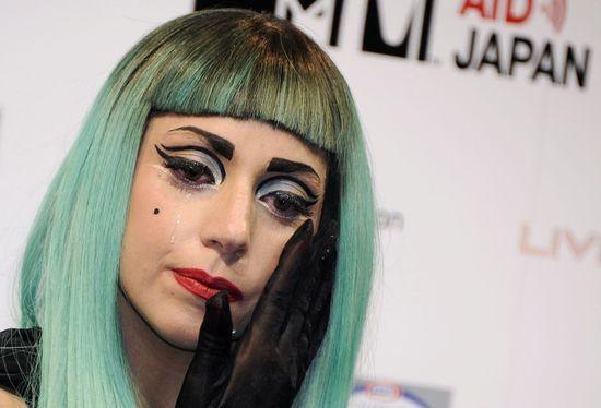 Gaga llora en tokio_ EFE