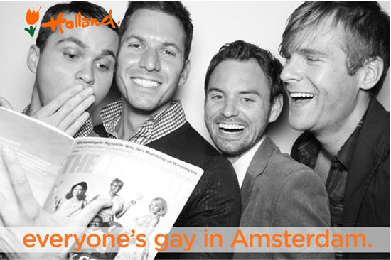 En Turismo de Amsterdam, todos gays