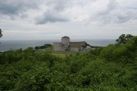 La central de Bataan en Filipinas.