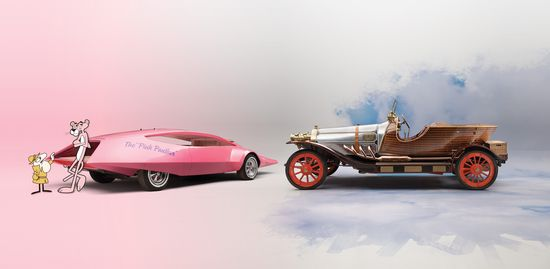 Pink Panther y Chitty Chitty Bang Bang