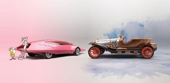 Pink Panther y Chitty Chitty Bang Bang