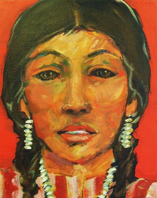 Native-american-indian-woman-of-long-ago-carol-suzanne-niebuhr