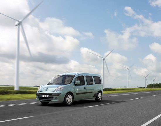 Renault Kangoo Maxi de pasajeros