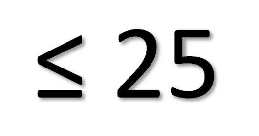 Menosoigual25