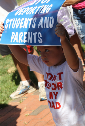 Stop deporting students and parents