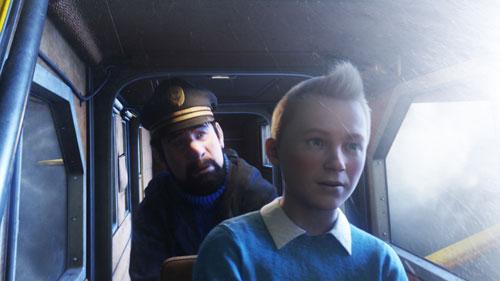 Tintín y el capitán Haddock