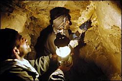 Imagen de una mina afgana tomada de la Embajada de Afganistán en Washington