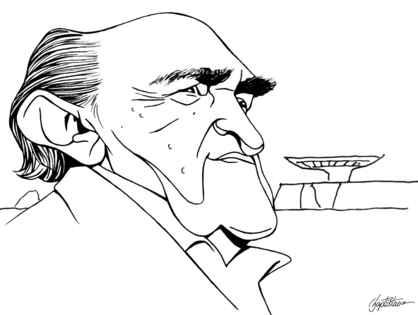 Caricatura de niemeyer