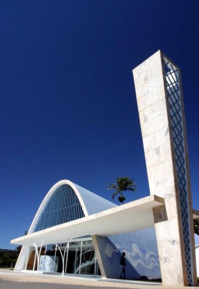 Igleia de San francisco de asis en Belo Horizonte 9Niemeyer)