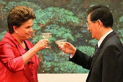 Dilma-china