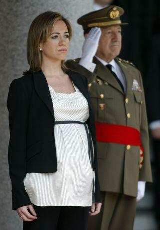 La ministra de Defensa, Carme Chacón. / BERNARDO PÉREZ