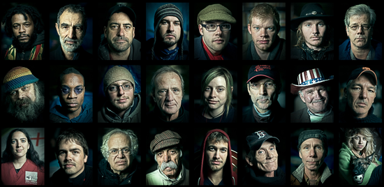Los 99 rostros de Occupy Wall Street