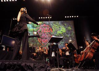Imagen del concierto de Zelda en Londres