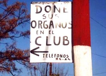 Done sus organos